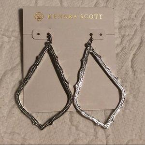 Kendra Scott silver Sophee drop earrings